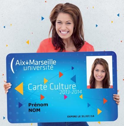 Carte Culture AMU